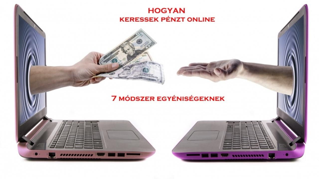 pénzt keresni az interneten személyes letét nélkül internetes kereskedelem befektetés útján