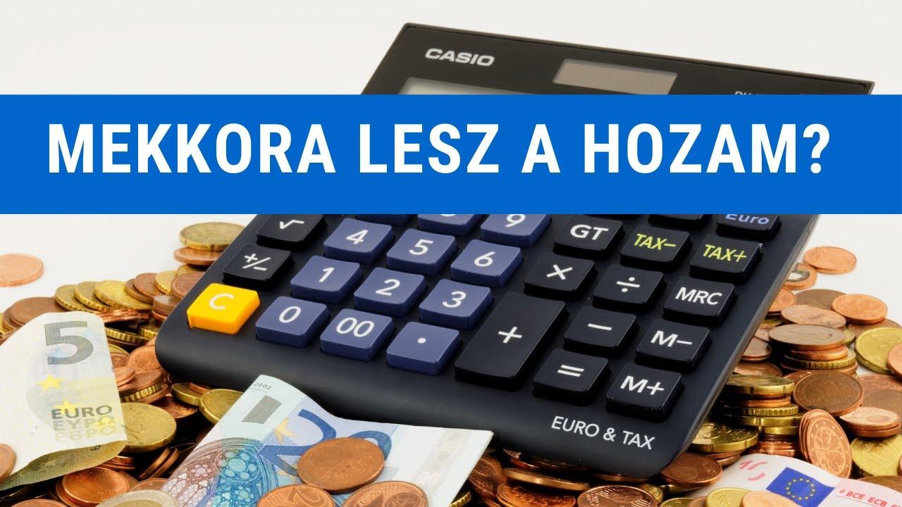 jövedelem betétek kamatokkal az interneten bónusz opciók kereskedése