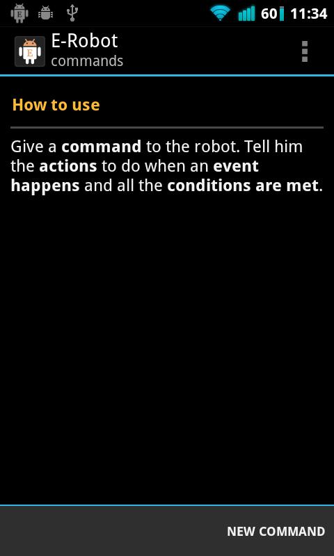 van-e opció robot