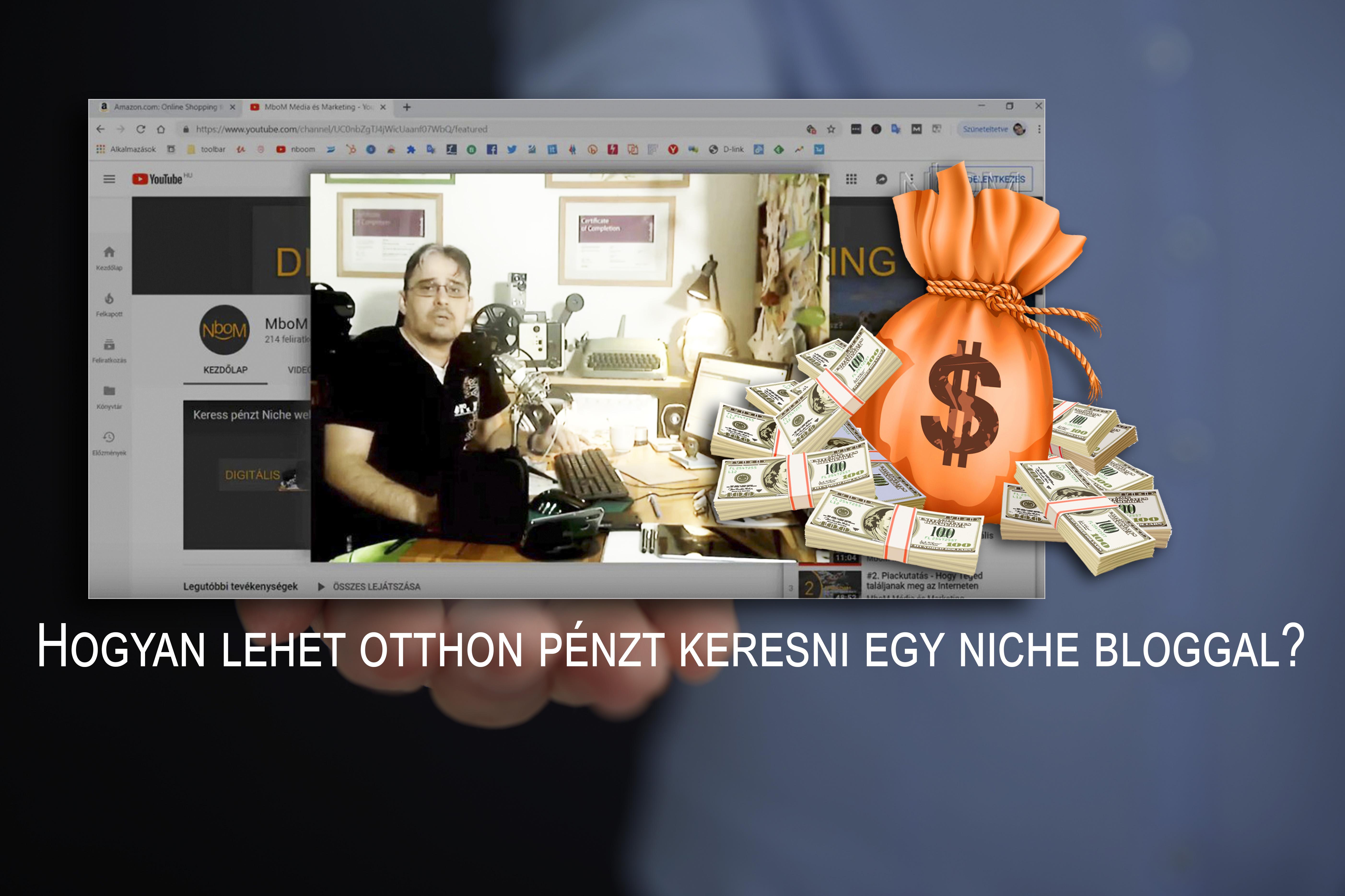 pénzt keresni a videókkal