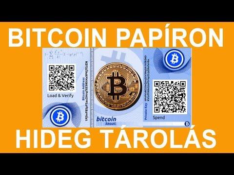 hideg pénztárca bitcoin