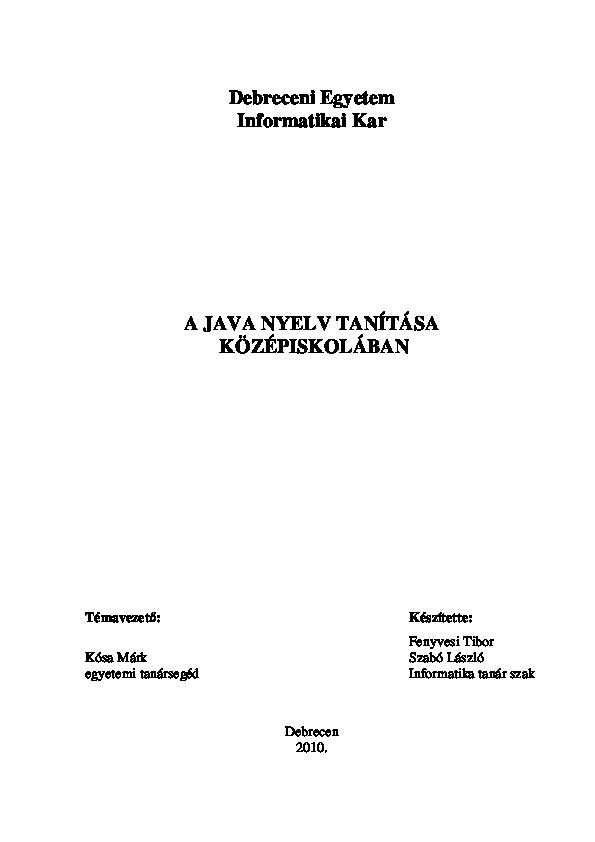 konstruktor bináris opciók