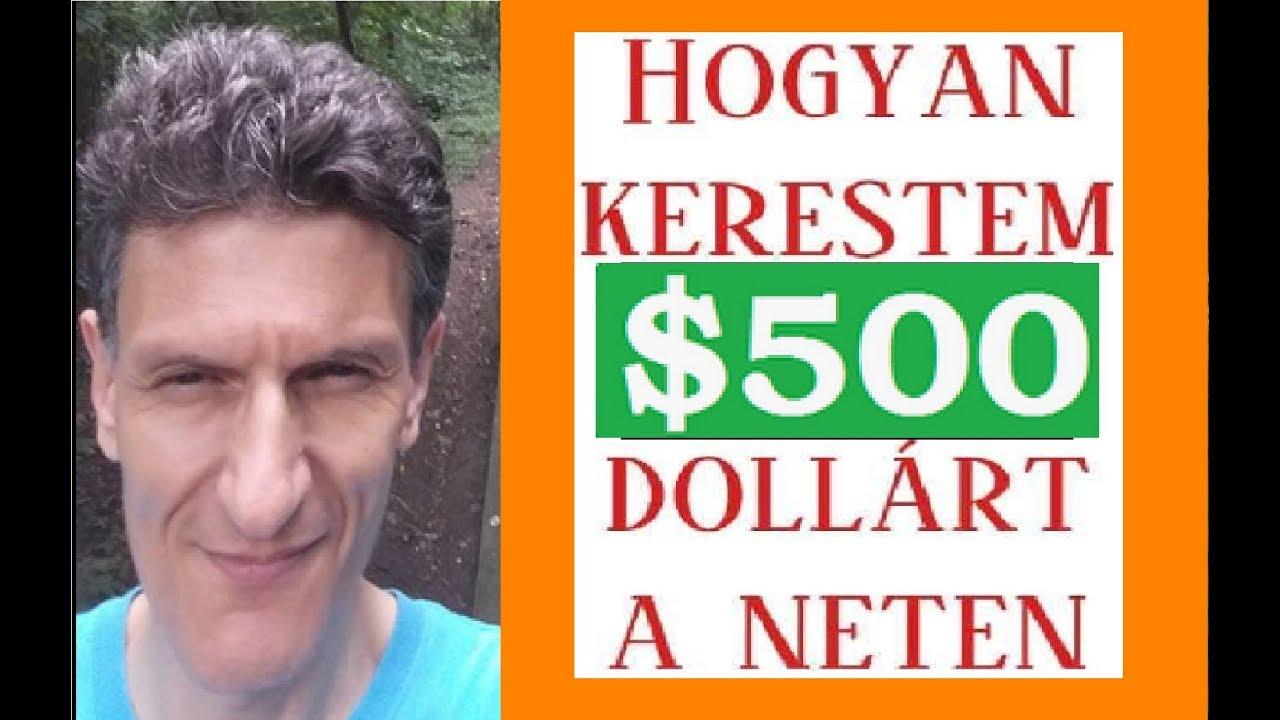 pénzt keresni most 500