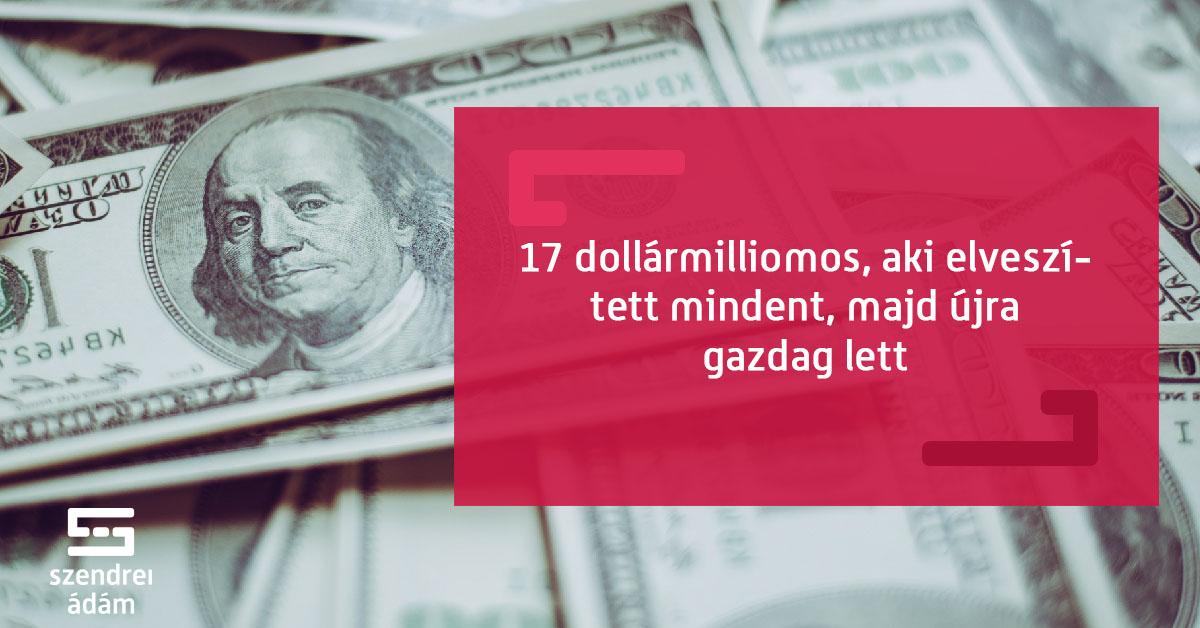 mennyi pénzt kell keresnie ahhoz hogy milliomos legyen
