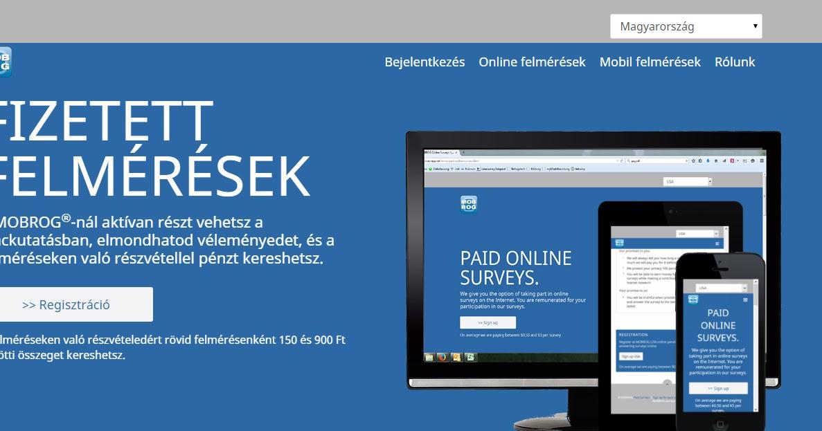 egy weboldal amely pénzt kereshet